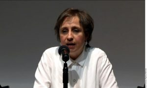 Antes de acudir a vía judicial, Carmen Aristegui pidió a MVS reconsiderar el regreso de su espacio radiofónico con equipo completo. Foto: Agencia Reforma
