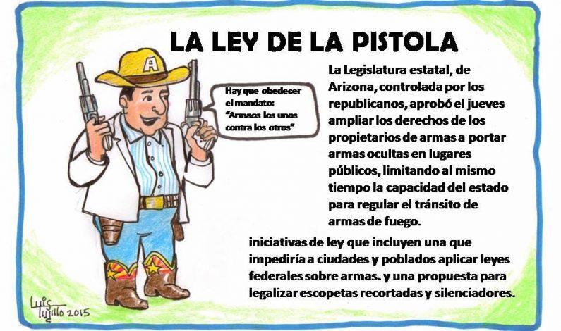Amplían derechos a portadores de armas