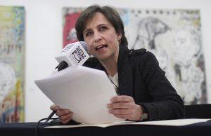 Aristegui continúa como conductora de un programa de análisis en CNN en Español. También tiene el portal en internet aristegiunoticias.com. Foto: AP