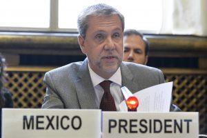 Jorge Lomónaco, representante Permanente de México ante Naciones Unidas. Foto: Notimex