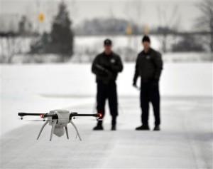 """La CBP opera drones tipo """"MQ-9 Reaper"""" a gran altura para vigilar la frontera. Foto: AP"""