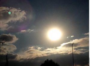 El eclipse será visible dentro de una franja estrecha, que se iniciará en un punto del océano Atlántico al Este de la península del Labrador, Canadá. Foto: Agencia Reforma