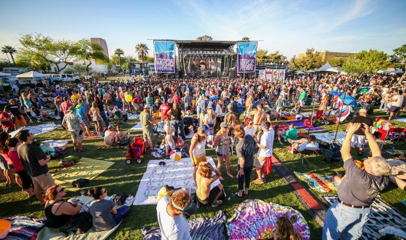 La música invade Phoenix