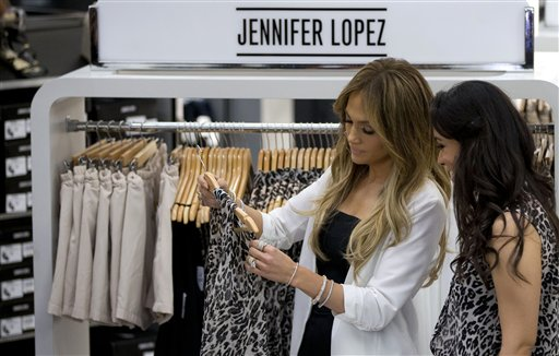 """Jennifer López: """"No diseñaría para hombres"""""""