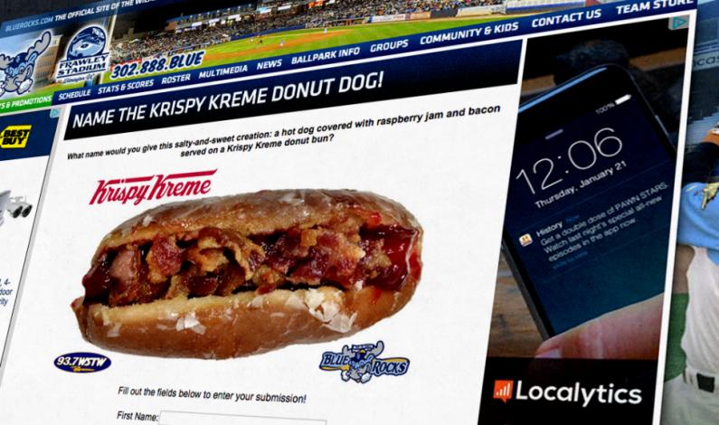 """Krispy Kreme crea """"hot dog"""" de dona y tocino para equipo de béisbol"""