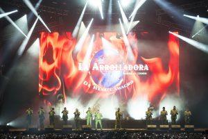 La Arrolladora hizo vibrar durante casi dos horas al público con sus más sonados éxitos. Foto: Cortesía Cumbre Tajín/Fernando Aceves