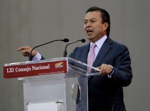 César Camacho, presidente nacional del PRI. Foto: Notimex