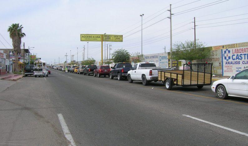 Inician ampliación en garita de San Luis, Arizona