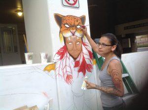 Noreen Ayonayon forma parte del proyecto. Foto: Cortesía