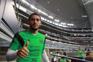 Jesús Corona verá acción el sábado frente a Ecuador. Foto: Notimex