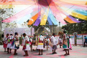 Cumbre Tajín recibirá a miles de visitantes que podrán vivir la experiencia de la enseñanza indígena a través de la sabiduría totonaca. Foto: Cortesía