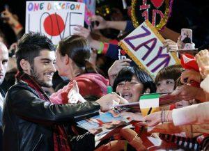 La exitosa banda británica de chicos confirmó el miércoles 25 de marzo del 2015 que Malik ha dejado el grupo. (AP