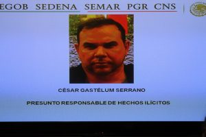 Gastélum Serrano es señalado de traficar cocaína en gran escala a través de la ruta Colombia, Honduras, Guatemala y México, con destino final a los Estados Unidos. Foto: Notimex