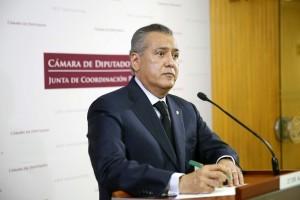 Manlio Fabio Beltrones, líder nacional del Partido Revolucionario Institucional (PRI). Foto: Notimex