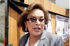 Elba Esther Gordillo, ex líder nacional del SNTE. Foto: Agencia Reforma