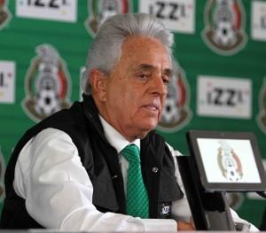 Justino Compeán estará al frente de la Federación Mexicana de Futbol hasta el 31 de julio. Foto: Notimex
