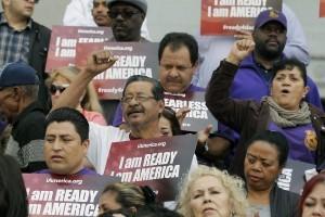El DACA y DAPA fueron puestas en suspenso por el juez de Texas Andrew Hanen y apeladas por el Departamento de Justicia ante la Corte de Apelaciones del Quinto Circuito. Foto: AP