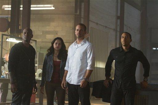 'Furious 7' mantiene control del taquilla