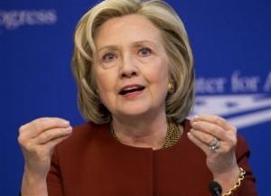 Hillary Clinton, precandidata demócrata a la presidencia de Estados Unidos. Foto: AP