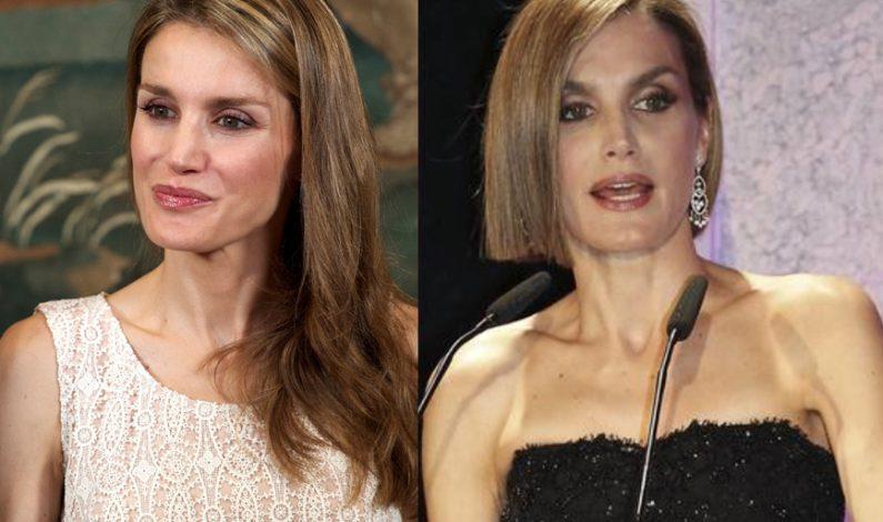 Reina Letizia sorprende con corte de pelo