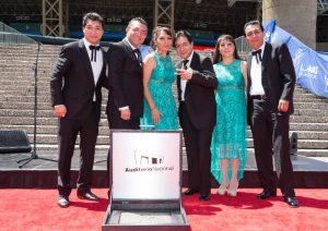 Los hermanos Mejía Avante, orgullosos de este reconocimiento. Foto: Cortesía