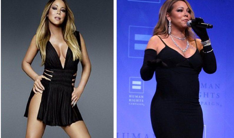Mariah Carey se pasa con el Photoshop