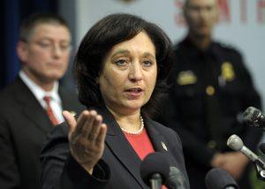 Michele Leonhart, jefa de la administración federal antidrogas (DEA). Foto: AP