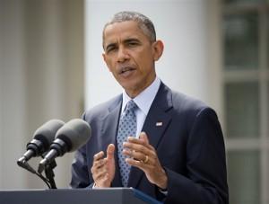 """La Casa Blanca sostiene que el presidente actuó de acuerdo con sus facultades para arreglar """"un sistema de inmigración arruinado"""". Foto: AP"""