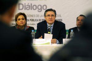 Luis Raúl González Pérez, presidente de la Comisión Nacional de los Derechos Humanos (CNDH). Foto: Notimex