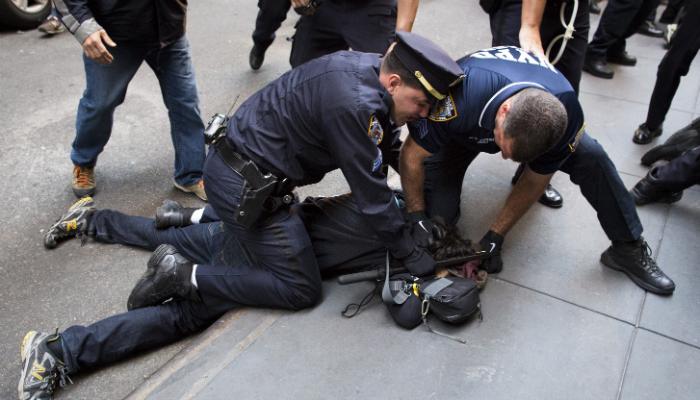 Protestas en Nueva York contra la brutalidad policial