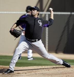 Rockies de Colorado ante los Diamondbacks de Arizona,