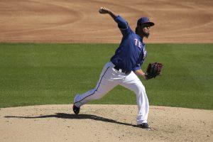 Gallardo jugará la temporada 2015 con el equipo Rangers de Texas. Foto: AP