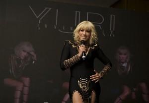 """En 2016 Yuri  seguirá con su tour """"invencible"""" en Puerto Rico, República Dominicana, Chile y existe la posibilidad de presentarse en España. Foto: AP"""