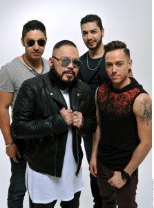 El regreso de A.B.Quintanilla, PeeWee, Roke Morales (gris) y Memo Morales (camisa negra) tiene ya tres fechas aseguradas en junio. Foto: Agencia Reforma