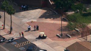 La tragedia ocurrió la mañana del martes en la Escuela Corona del Sol de Tempe. Foto: Tomada de Facebook de ABC 15 Arizona