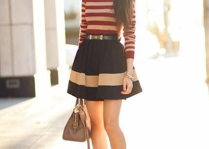 """Faldas línea """"A"""": Comodidad y estilo"""