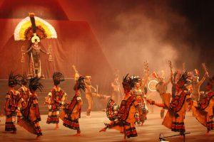 La agrupación está integrada por 70 bailarines, siete percusionistas y 12 marimberos. Foto: Notimex