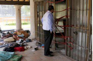 Peritos médicos revisaron seis cuerpos hallados en el Rancho Del Sol, a fin de detectar lesiones. Foto: Agencia Reforma