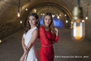 Ana Brenda y Grettell Valdez. Foto: Cortesía de Televisa
