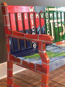 A través del arte artistas locales promueven la buena vecindad. Foto: Cortesía