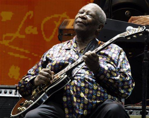 Muere la leyenda del blues B.B. King