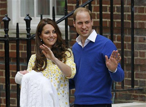 Nombran Carlota Isabel Diana a la nueva princesa británica