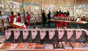 El dueño del libro es Álvaro Castillo, un librero de profesión que había prestado el ejemplar de forma altruista a la feria. Foto: AP