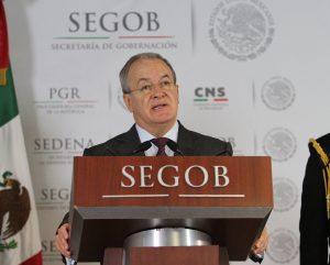 Monte Alejandro Rubido, comisionado nacional de Seguridad. Foto: Notimex