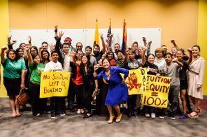 El propósito de la visita es promover lazos de entendimiento, cooperación y solidaridad con la juventud dreamer. Foto: Lupita Samayoa