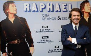 En Raphael, no hay un antes y un después, hay un presente espectacular. Foto: Mixed Voces.