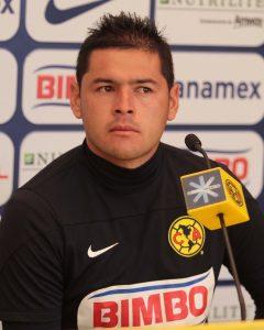 40225082. México, D.F.- Pablo Aguilar, defensa del club América,  niega en conferencia de prensa, que haya crisis dentro del equipo.   NOTIMEX/FOTO/GUILLERMO GRANADOS/GGV/