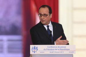 """Hollande aseguró que Francia """"será un aliado fiel de Cuba en sus propósitos de desarrollo y reinserción en el contexto económico mundial. Foto: Notimex"""