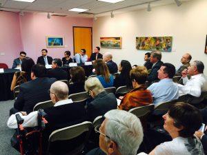 El evento se realizó para fortalecer los lazos empresariales entre Phoenix y Mexicali. Foto: Mixed Voces