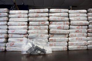 lLa droga fue incautada en la Carretera Internacional número 15 México-Nogales. Foto: AP